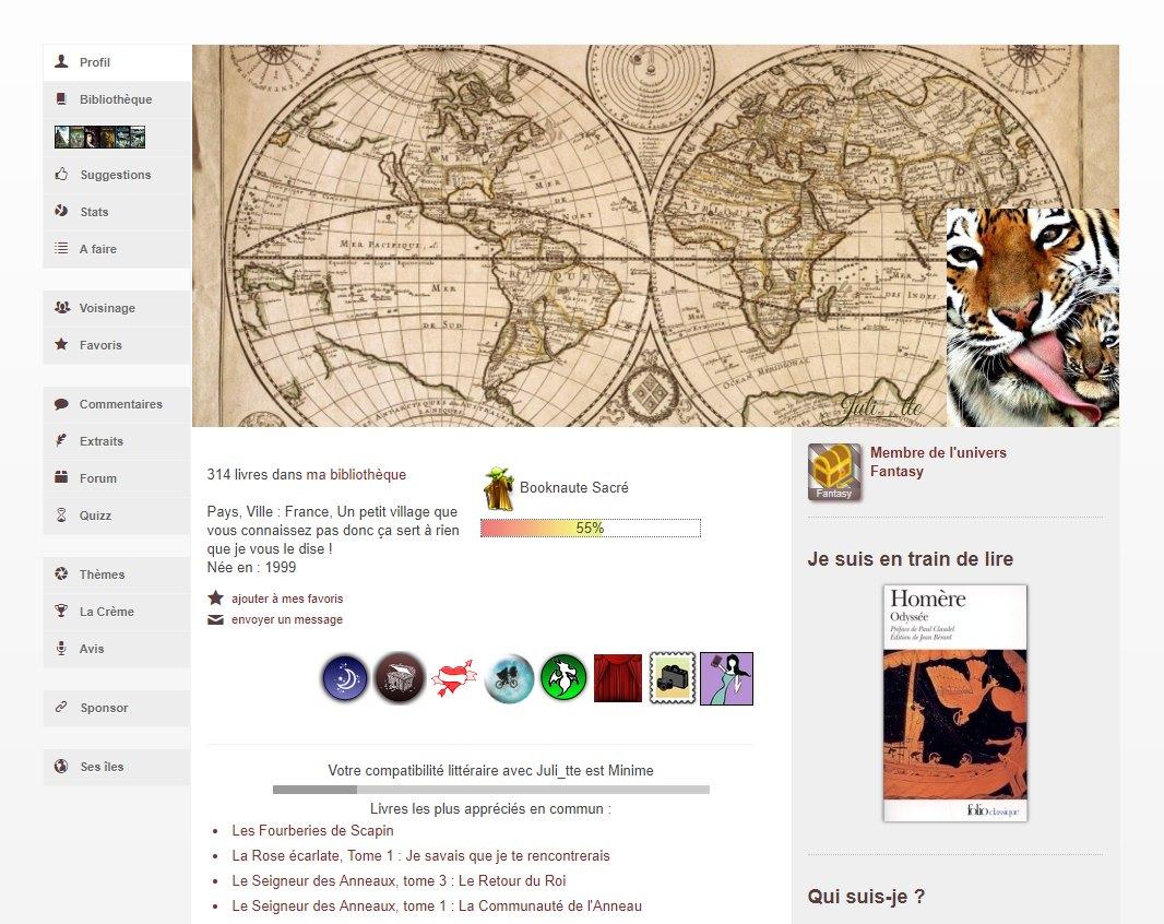 sélection de profils, Personnalisation de profil par Juli__tte