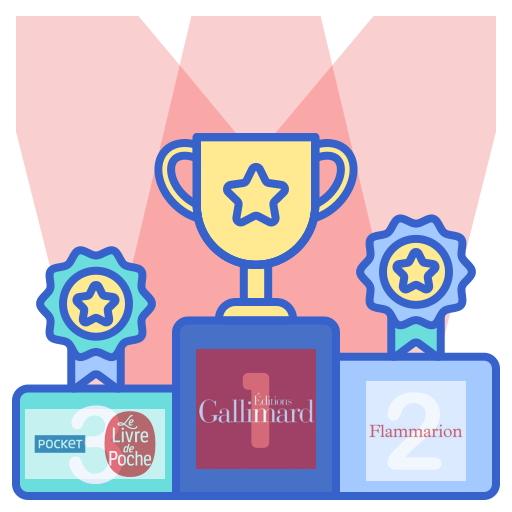 Podium des gagnants Combat Editeurs Avril 2020